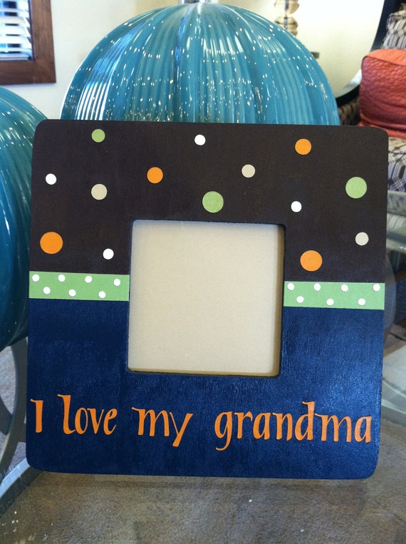 Items Similar To I Love My Grandma Personalized Picture