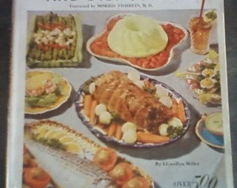 Reducing Cook Book and Diet Guide 1953