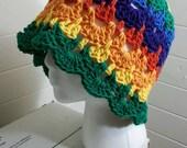 Rainbow Garden Cloche