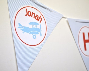 Airplane Party Banner