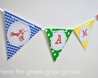 Tricycle Mini Banner