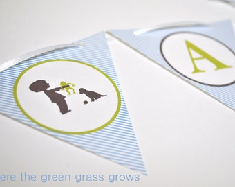 Frogs Snails and Puppy Dog Tails Mini Banner
