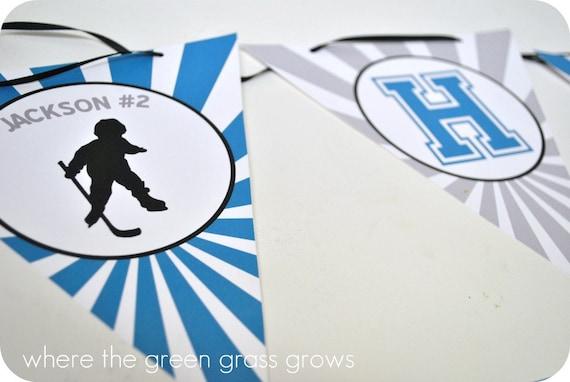 Hockey Banner (Bunting)