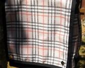Custom Listing for MANDY - M Bag with Regretsy Dingleberry Plaid Spoonflower Fabric