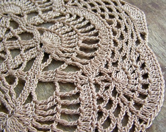 Doily knitted crochet...  for home decor