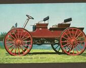 International Harvester 1907 Auto Buggy - Vintage Auto with 1968 Ottawa Meter Cancel