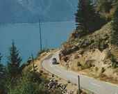 Kootenay Lake Highway between Creston - Nelson BC Unused Vintage Chrome Postcard