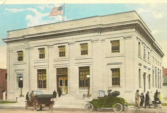 Vintage Postcard Post Office GREELEY Colorado - Unused