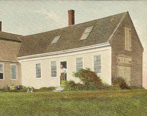 Orr's Island Maine - The Kittredge House Unused Vintage Postcard