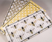 Money Envelope or Debit Card Balance Tracker and Receipt Holder, Stocking Stuffer -- Busy Bee