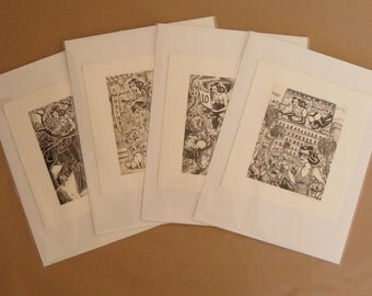 """Limited Edition Signed """"Do it yourself Doodler"""" Print"""