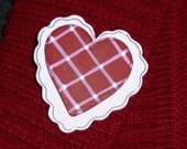 Valentine's Day Heart Pin - Valentine Jewelry