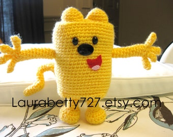 Wow Wow Wubbzy inspired amigurumi crochet pattern
