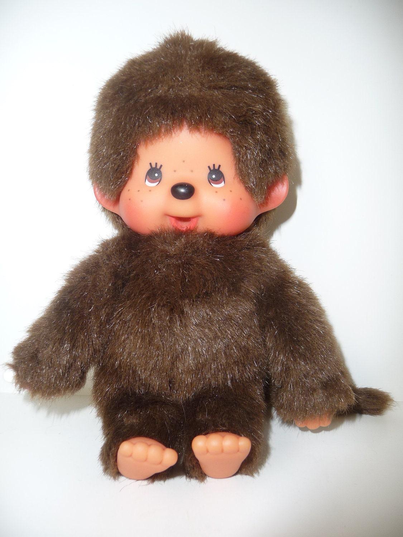 Vintage Monchichi Boy Doll Sekiguchi Monkey