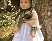 Immigrant/Pioneer Kirsten 18inch American Girl Doll 4 piece Dress set