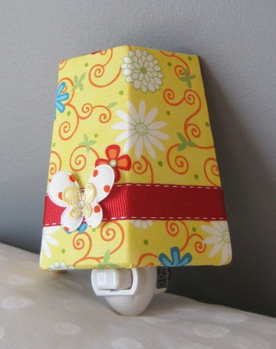 New Moda Fabric - Bright Floral - Night Light