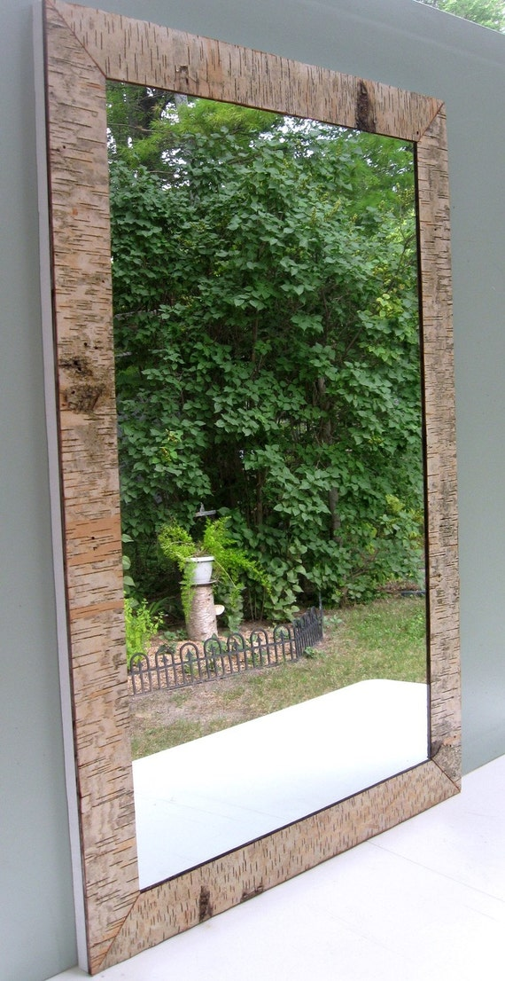 Antique willard glass company mirror with a flare of birch for Glass and mirror company