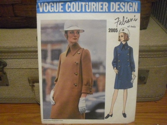 Vintage Vogue Couturier Design Pattern - Fabiani of Italy