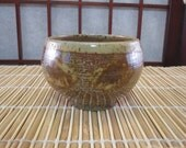Speckled Tan, Burnt Orange and Brown Tea Bowl -- Small -- TB9