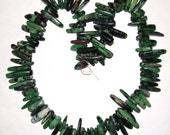 Ruby in Zoisite (Tanzanite) 16 Inch Strand Of Freeform Beads
