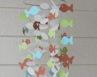Adorable Paper Fish Mobile