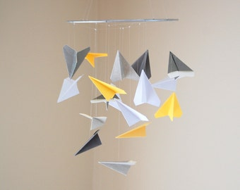 Paper Airplane Mobile- Custom Colors