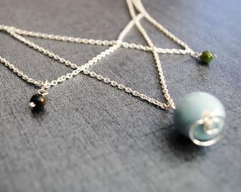 Triple Orbit: FF4 Necklace