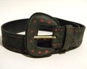 Vintage Escada Heart Belt