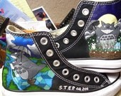 S.T.E.P. Custom Hand Painted Shoes