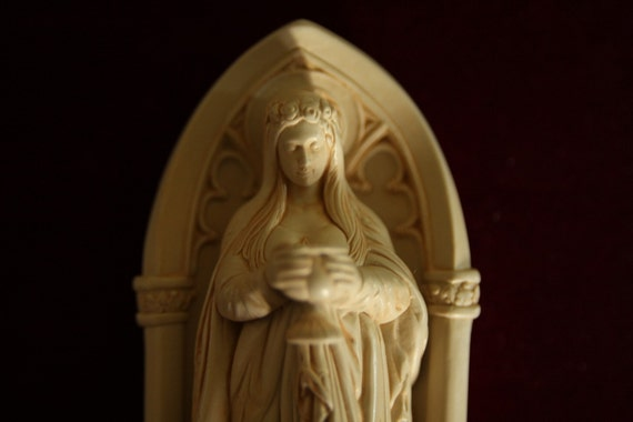 Saint Mary magdalene Lady of the LABYRINTH 5 inches statue