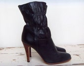 Reserved ON SALE Sassy 9West Boots Pure Vintage Early 80's