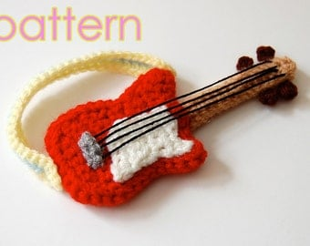 crochet pattern - guitar