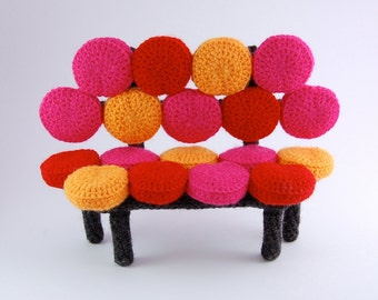 crochet pattern - bubbly sofa