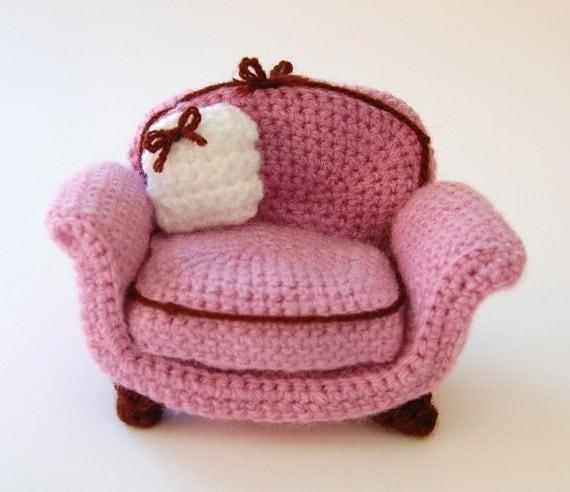 amigurumi pattern - armchair