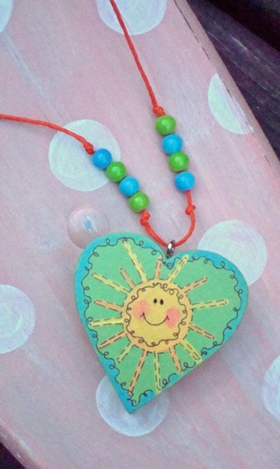 Sun Beams of Happiness Necklace