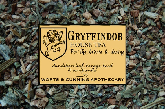 GRYFFINDOR House Tea - Organic