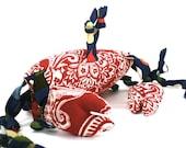 Dog Toy Big Crab Squeaking But No Pinching
