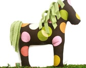 Extra Durable Dog Toy Horse 'DOUBLE FABRIC LAYER Construction'