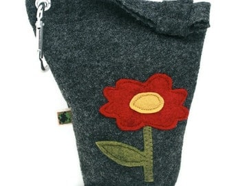 Leash Bag Little Flower