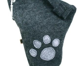 Leash Bag Large Paw Print
