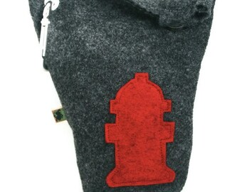 Leash Bag Large Fire Hydrant