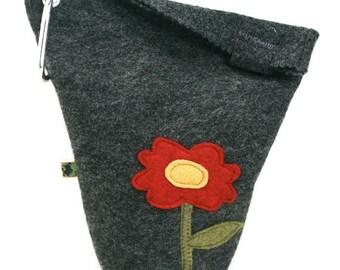 Leash Bag Large Flower