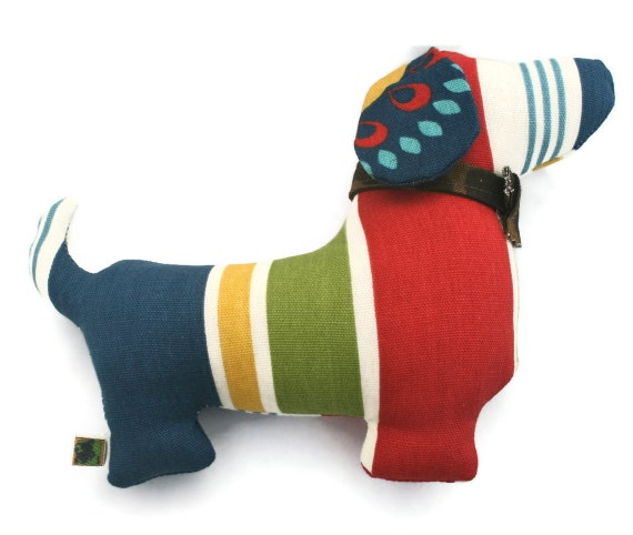 Extra Durable Dog Toy Doxie Dog 'DOUBLE FABRIC LAYER Construction'