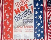 Its D Lovely Red HOT and Blue Cole Porter Sheet Music 1936