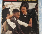 Life Magazine 28 June 1963  Medgar Evers widow and son