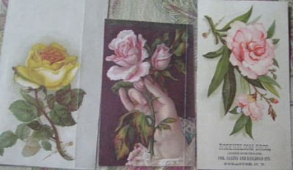 9 Victorian Trade Cards