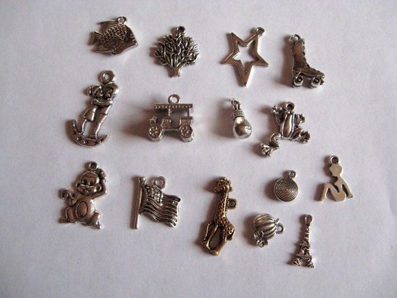 Lot of 15 Charms