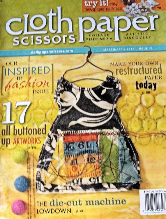 Cloth Paper Scissors  Mar Apr 2011