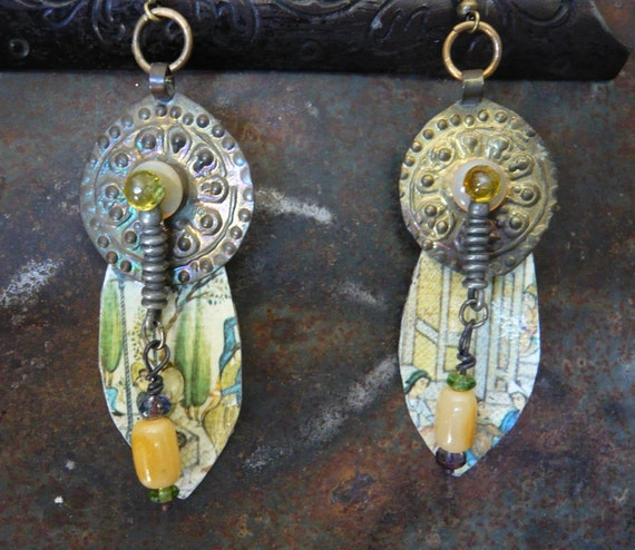 Persian Sunrise Earrings