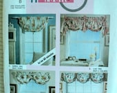 Swag Curtains Patterns - McCall's Home Decor